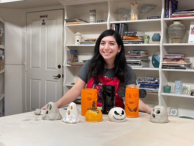 Old Town Artisan Studios gets the community in the Halloween spirit