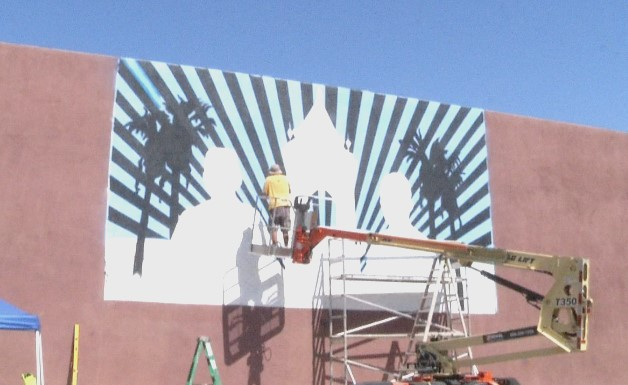 Mural Honoring Fallen Palm Springs Police Officers To Be Unveiled Friday