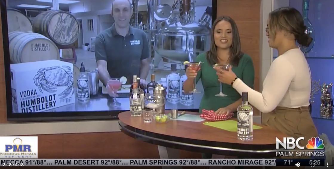 WATCH: National Cosmo Week with Humboldt Distillery