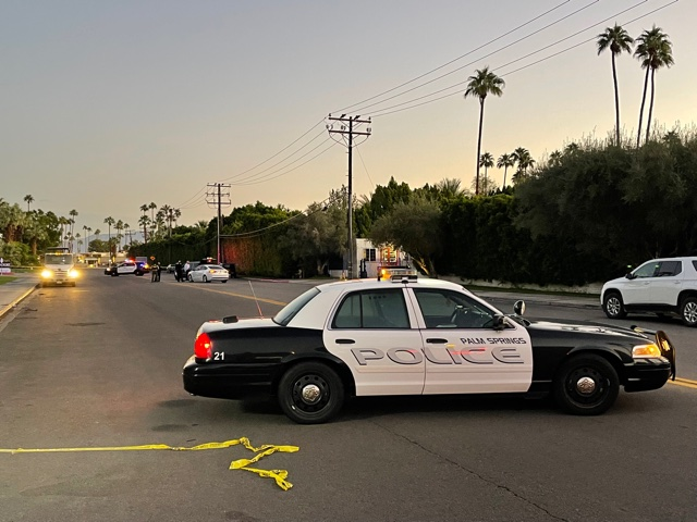 Woman shot and killed while in her car in Palm Springs