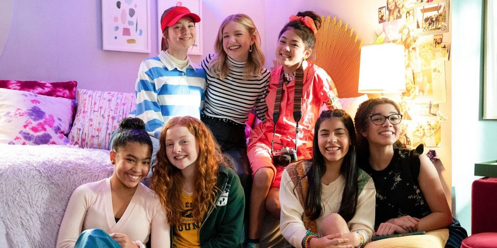"""""""The Baby-Sitters Club"""" Returns for Season 2!  Sophie Grace, Malia Baker, and Kyndra Sanchez Talk About Popular Netflix Series"""