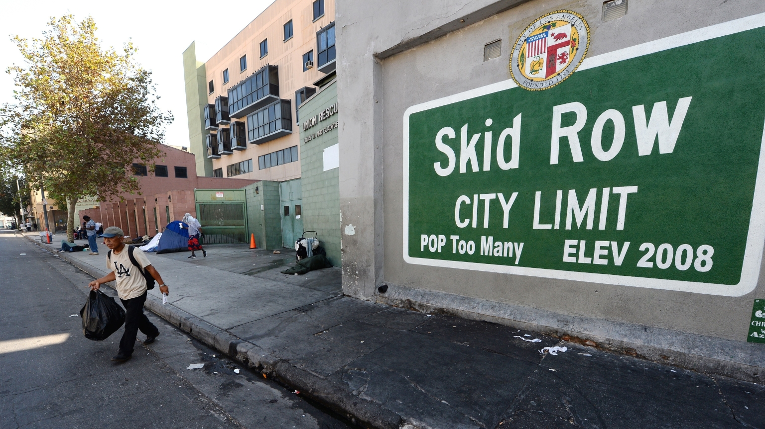 A Step Into Cleaning Skid Row